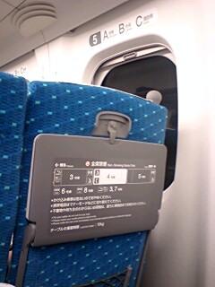 N700系に乗りました。