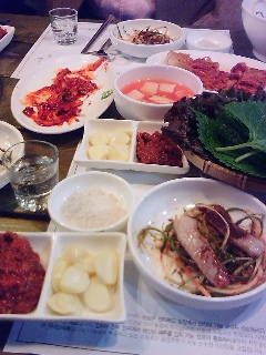 韓国で焼き肉