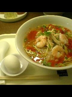 トムヤム冷麺