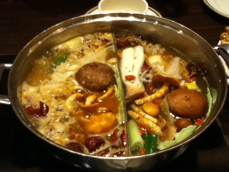 薬膳鍋を食べに行きました。