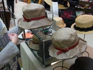 帽子の作品展